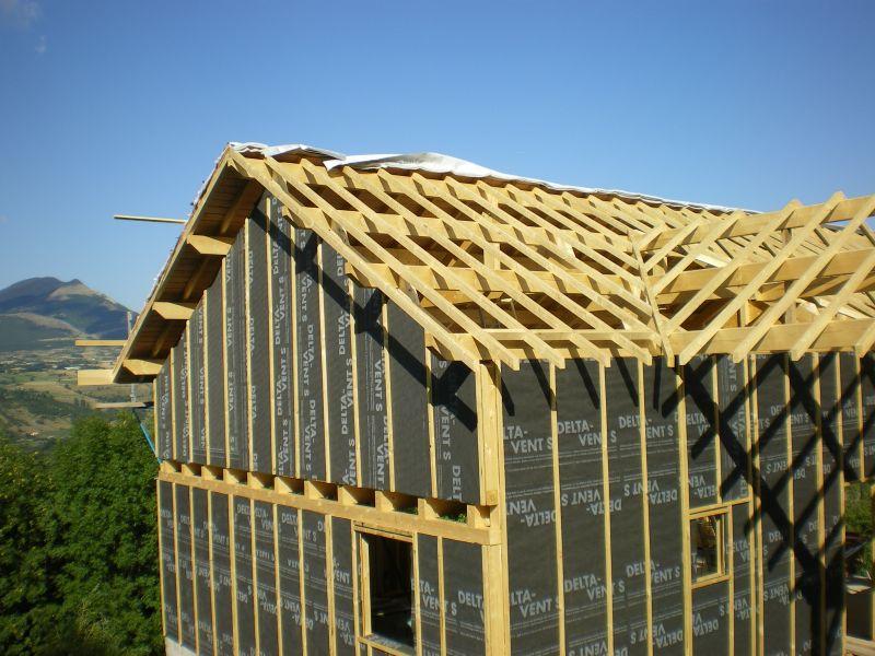 Toiture archive at notre maison en bois - Debord de toit ...