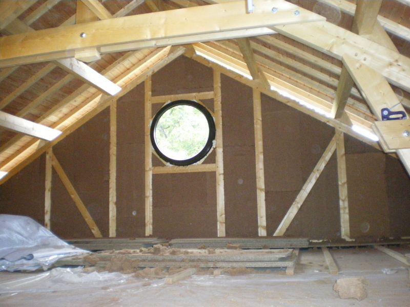 Notre maison en bois for Fabriquer son ossature bois