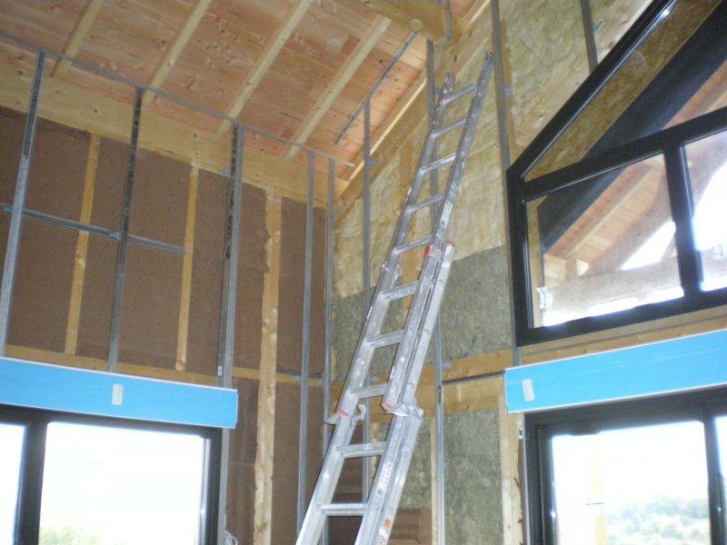 Niveau 0 archive at notre maison en bois - Baie vitree 6 metres ...