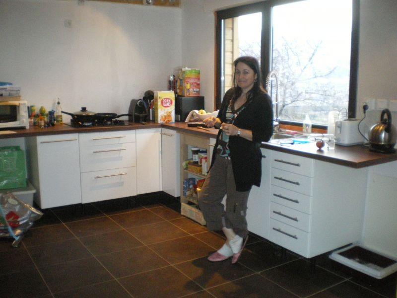17 avril bilan des travaux des vacances de printemps at for Cuisine integree bois
